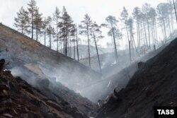 Пожары в Бурятии, 2015 год
