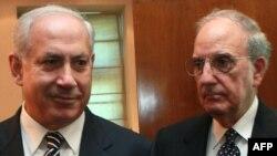 Džordž Mičel i Benjamin Netanjahu