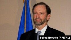 Patrick Moon na konferenciji u Sarajevu, 14. maj 2013.