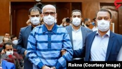 Big corruption trial of former Judiciary officials in Tehran court. June 6, 2020