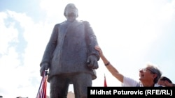 Bosnia-Herzegovina's Republika Srpska unveiled a monument to Princip in eastern Sarajevo in 2014.