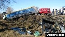 На місці катастрофи на Полтавщині, 16 березня 2015 року