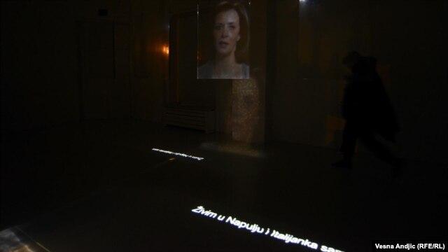 Izložba u Beogradu: Supruga preminulog arheologa svedoči na video bimu