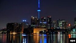 Pamje nga Toronto në Kanada