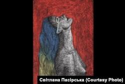 Картина Світлани Пасірської «Біль»