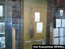 Абай музейіндегі экспонаттар. Жидебай, Шығыс Қазақстан облысы. 26 тамыз 2013 жыл.