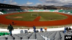 The game will be played in a 29,000-seat stadium in Kosovska Mitrovica, the country's only FIFA-approved stadium.