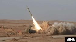 رزمایش موشکی «پیامبر اعظم ۷» سپاه پاسداران- ۱۳ تیرماه ۱۳۹۱