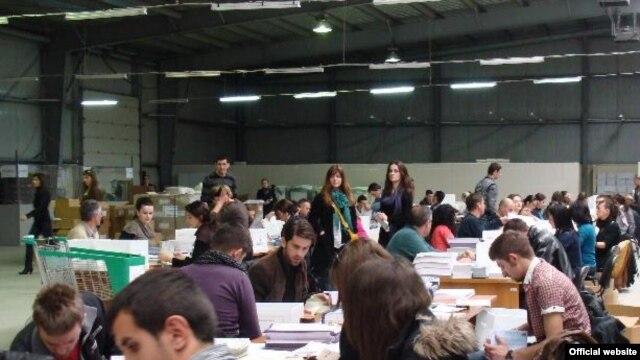 Kosovo, sabiranje rezultata popisa, maj 2011