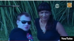 Firuza Savushkina (right), 31, and her 23-year-old fiance, Yury Glazyev, the son of top Kremlin adviser and well-known nationalist Sergei Glazyev.