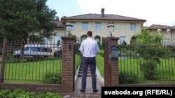 Падчас ператрусу ў доме Віктара Бабарыкі