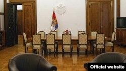 Salon za sastanke u kabinetu predsednika Srbije