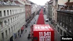 Obilježavanje 20. godišnjice opsade Sarajeva, 6. april 2012.