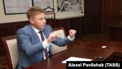 Aqyarnıñ rusiyeli başı Dmitriy Ovsânnikov