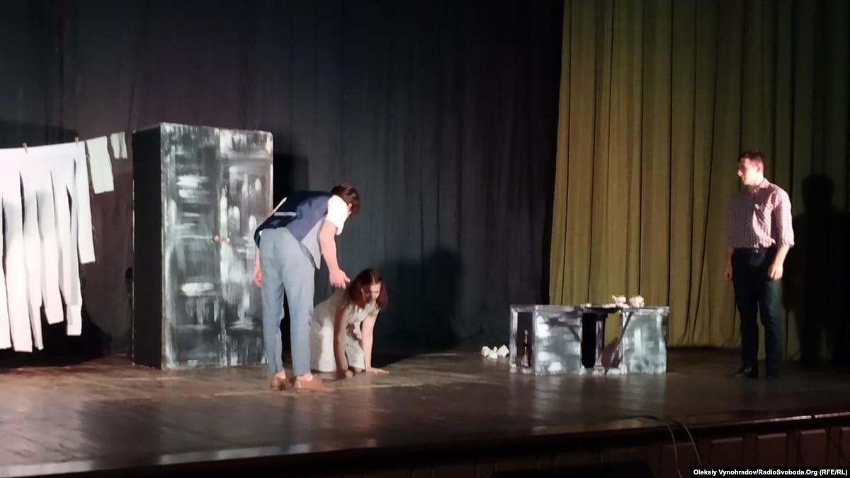«Нельзя молчать»: в Северодонецке показали спектакль о домашнем насилии