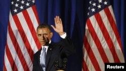 Amerikanyň Birleşen Ştatlarynyň prezidenti Barak Obama. 2013 ý.