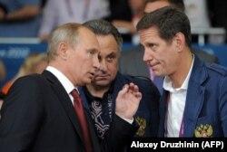 Владимир Путин, Виталий Мутко и Александр Жуков