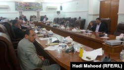 جلسة لمجلس محافظة المثنى