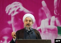 Iranian President Hassan Rohani has repeatedly been targeted over his attempts at engagement with the West.