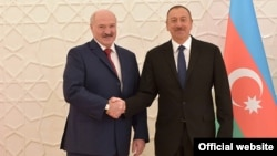Аляксандар Лукашэнка і Ільхам Аліеў