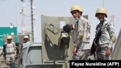 Військові Саудівської Аравії чергують на кордоні із Єменом, фото архівне