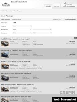 Бізнес Катців – торгівля автівками