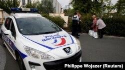 پلیس فرانسه در پاریس (عکس از آرشیو)