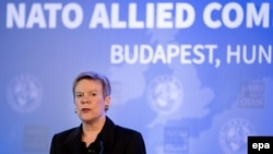 Заместитель генерального секретаря НАТО Роуз Геттемюллер.
