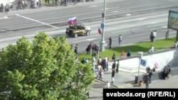 Belarus - the preparation to Parady in Minsk, 28June2014