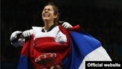 Milica Mandić na Olimpijadi u Londonu