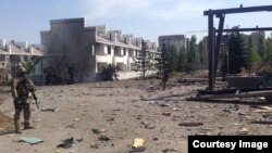 Ղրղըզստան - Պայթյունի վայրը Բիշքեկում, 30-ը օգոստոսի, 2016թ․