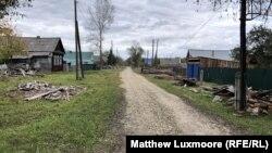 Razyezd Zolotkovsky, the village Yelizaveta Mikhailova moved to 11 years ago from exile in Moldova.