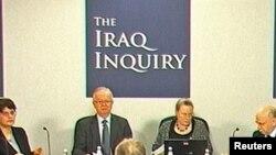 Тони Блэр выступает перед комиссией, расследующей обстоятельства участия Британии в войне в Ираке