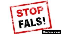 """Logo-ul campaniei """"Stop Fals!"""""""