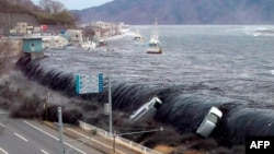 2011 жылы 11 наурызда болған жер сілкінісі мен цунами. Жапония, 16 наурыз 2012 жыл.