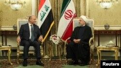 رئیسان جمهور ایران و عراق