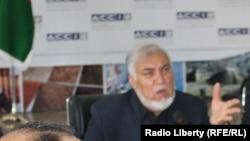 خان جان الکوزی معاون اتاق تجارت و صنایع افغانستان