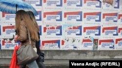 Posteri u Srbiji nakon izbora 24. aprila 2016.