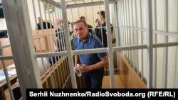 Аляксандар Яфрэмаў у судзе ў Кіеве