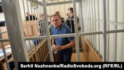 Олексндр Єфремов у Печерському суді Києва, 1 серпня 2014 року