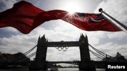 Олимпиада қарсаңындағы Лондон. 27 маусым 2012 жыл.