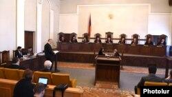 «Կոնգրես-ՀԺԿ» դաշինքի դիմումով լսումները Սահմանադրական դատարանում, Երևան, 25-ը ապրիլի, 2017թ․