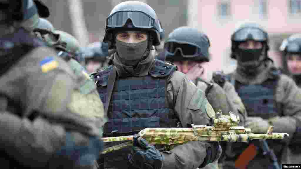 Снайпери Національної гвардії України. Київщина, 18 березня 2016 року