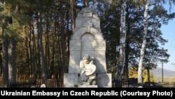 Українські могили в Чехії. Автор проекту Михайло Бринський