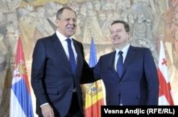 Lavrov dhe Daçiq. Foto nga arkivi.