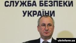 Украина – Украинин Къоман кхерамазаллин сервисан куьйгалхо Грицак Василий.