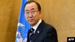БҰҰ бас хатшысы Пан Ги Мун.