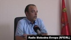 Тони Заткоски, градоначалник на Општина Кривогаштани.