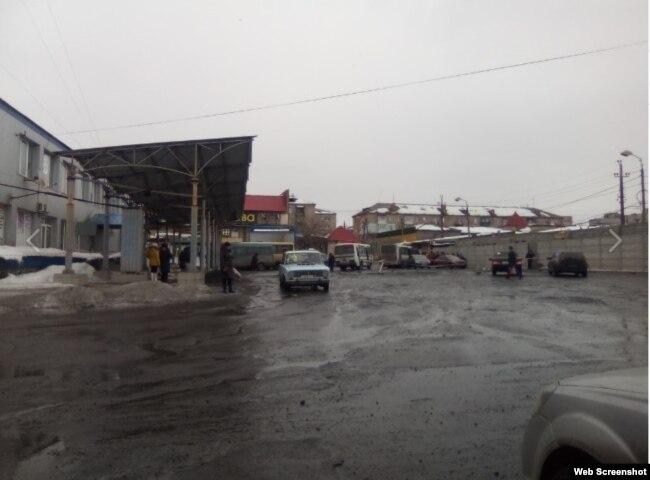 Автостанция в Торезе
