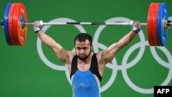 Нижат Рахимов Рио олимпиадасында. 2016 жыл.